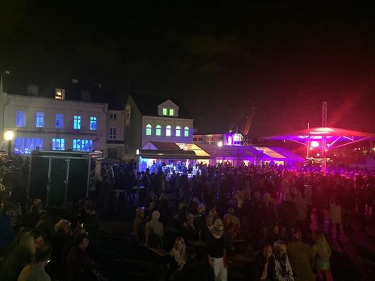 Der Kanalplatz und die Kulturwerkstatt
